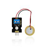Ключ-студия аналогового пьезоэлектрического керамического датчика вибрации для ардуино