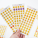 12 PCS/Set iPhone Expression Cartoon Sticker Creative Office Supply