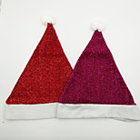 бархатная рождественская шляпа рождественский орнамент
