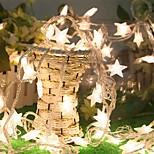 3m 30 led fairy рождественские огни звезда батарея вел шнур свет для праздничной свадьбы