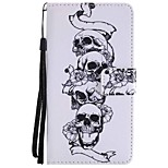 Case For Huawei Mate 9 Mate 10 Card Holder Wallet with Stand Flip Magnetic Pattern Full Body Skull Hard PU Leather for Huawei Mate 10