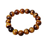 Men's Strand Bracelet Onyx Cartoon Hiphop Agate Circle Jewelry For Gift Date