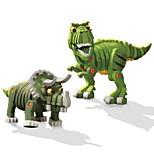 Конструкторы Игрушки Динозавр Животные Своими руками 2 Куски