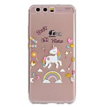 Case For Huawei P8 Lite (2017) P10 Lite Pattern Back Cover Unicorn Soft TPU for Huawei P10 Lite Huawei P10 Huawei P8 Lite (2017)