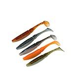 """Недорогие -6 штук Мягкие приманки г / Унция мм / 4"""" дюймовый, ABS Морское рыболовство Ловля на приманку Ловля на крючок Пресноводная рыбалка"""