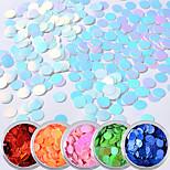 economico -glitter per manicure  Art deco Laser Holografico Con lustrini 0.04kg/scatola