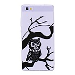 cheap -Case For Huawei P8 Lite (2017) P10 Lite Transparent Pattern Back Cover Owl Soft TPU for Huawei P10 Lite Huawei P9 Lite Huawei P8 Lite