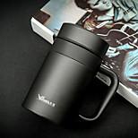 Office/Career Business Drinkware, 420 Coated Steel Tea Water Water Bottle