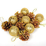 12pcs Christmas Decorations Christmas OrnamentsForHoliday Decorations 16*8*4
