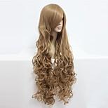 Косплэй парики Код Gease Nunnally V Britannia Аниме Косплэй парики 90 См Термостойкое волокно Универсальные
