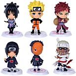 Недорогие -аниме фигуры, вдохновленные Наруто itachi uchiha pvc cm модель игрушки куклы игрушка