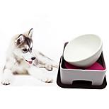 Cat Dog Feeders Pet Bowls & Feeding Adjustable/Retractable