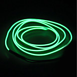 BRELONG 5m  EL LED Neon Cold Strip Light - Battery case  No battery