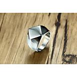 мужская группа кольца старинные персонализированные титановые стали геометрические украшения для свадьбы