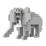 Building Blocks Toys Elephant Animals Cartoon Animal Animals Animal Animals DIY Kids 100 Pieces