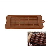 Cake Molds Rectangular Chocolate Cake Silica Gel Baking Tool