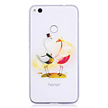Case For Huawei P8 Lite (2017) P10 Lite Transparent Pattern Back Cover Animal Soft TPU for Huawei P10 Lite Huawei P10 Huawei P9 Huawei P9