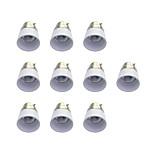 B22 to E14 Quick Bulb Converter Bulb Accessory 10Pcs