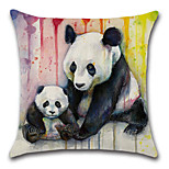 1 pcs Cotton/Linen Pillow Case Pillow Cover,Animals Classic Novelty Classical Traditional/Classic European Style Neoclassical Retro
