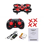 RC Drone NH-010 4 Channel 6 Axis 2.4G With 0.3MP HD Camera RC Quadcopter Forward/Backward One Key To Auto-Return 360°Rolling RC