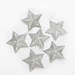 6pcs Christmas Decorations Christmas OrnamentsForHoliday Decorations 18*18*3