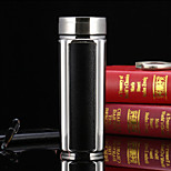 Office/Career Drinkware, 350 Organic Glass Stainless Steel Tea Water Water Bottle