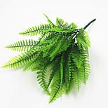 33см 4 шт 49 оставить / филиал персианской зеленой травой домашнее украшение искусственные цветы