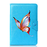 preiswerte -Universal butterfly pu leder stehen abdeckung fall für 7 zoll 8 zoll 9 zoll 10 zoll tablet pc