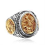 Муж. Массивные кольца На каждый день Хип-хоп Cool Мода Титан Сталь Геометрической формы Бижутерия Назначение Для вечеринок Повседневные