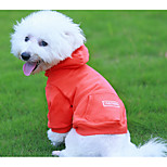 Dog Hoodie Dog Clothes New Year Birthday Casual/Daily Fashion Black Orange Green Costume For Pets