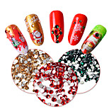 3 Nail Art Decoration Rhinestone Pearls Makeup Cosmetic Nail Art Design