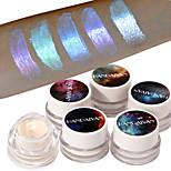 Недорогие -1шт блеск выделить глаз тени порошок палитры высокой светло-теней для век косметический макияж