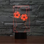 Art Touch Dimming 3D LED Night Light 7Colorful Decoration Atmosphere Lamp Novelty Lighting Light