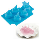 Baking & Pastry Tools Shark For Candy Ice Cheese Ice Cream Silicone