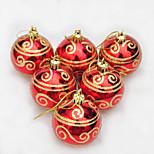 6pcs Christmas Decorations Christmas OrnamentsForHoliday Decorations 18*12*6