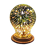 cheap -1pc A19(A60) E27 3D Decoration Bulb 4W Holiday Light Novelty Lamp Christmas Decorated AC85-265V