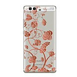 cheap -Case For Huawei P9 P10 Transparent Pattern Back Cover Flower Soft TPU for Huawei P10 Plus Huawei P10 Lite Huawei P10 Huawei P9 Huawei P9