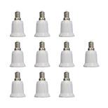 E14 to E27 Quick Bulb Converter Bulb Accessory 10Pcs