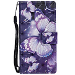 cheap -Case For Sony Xperia XZ Xperia XA1 Card Holder Wallet with Stand Flip Pattern Full Body Butterfly Hard PU Leather for Sony Xperia XZ Sony