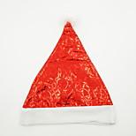 горячее тиснение рождественская шляпа рождественский орнамент