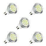 5pcs 5W E14 LED Spotlight ST58 16 leds SMD 5630 LED Lights White 380lm 3000-3500/6000-6500K AC 85-265V