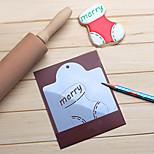 Couteaux à gâteaux Chaussettes Noël Gâteau Petit gâteau Pour Gâteau Pour Cookie Plastique