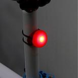 Недорогие -Задняя подсветка на велосипед LED Велоспорт Простота транспортировки CR2032 Люмен элемент питания Велосипедный спорт