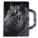 cheap -Case For Apple iPad mini 4 Card Holder Wallet with Stand Flip Magnetic Pattern Full Body Animal Hard PU Leather for iPad Mini 4 iPad Mini