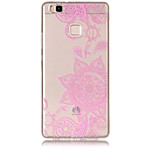 Case For Huawei P8 Lite (2017) P10 Lite Transparent Pattern Back Cover Lace Printing Soft TPU for Huawei P10 Lite Huawei P9 Lite Huawei