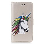 Case For Huawei P8 Lite (2017) P10 Lite Wallet Embossed Full Body Unicorn Hard PU Leather for Huawei P10 Lite Huawei P9 Lite Huawei P8