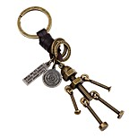 cheap -Keychains Jewelry Leather Alloy Toy Shape Vintage Gothic Gift Daily