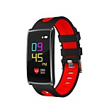 0.96 Inch Color OLED Screen Men's Woman Smart Bracelet Blood Oxygen/Blood Pressure/Heart Rate Monitor Pedometers for Ios Android