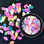 бриллиант красочные блестки оболочки красочные украшения для ногтей