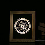 1 Set Of 3D Mood Night Light LED Lights USB Bedroom Photo Frame Lamp Gifts Ferris Wheel